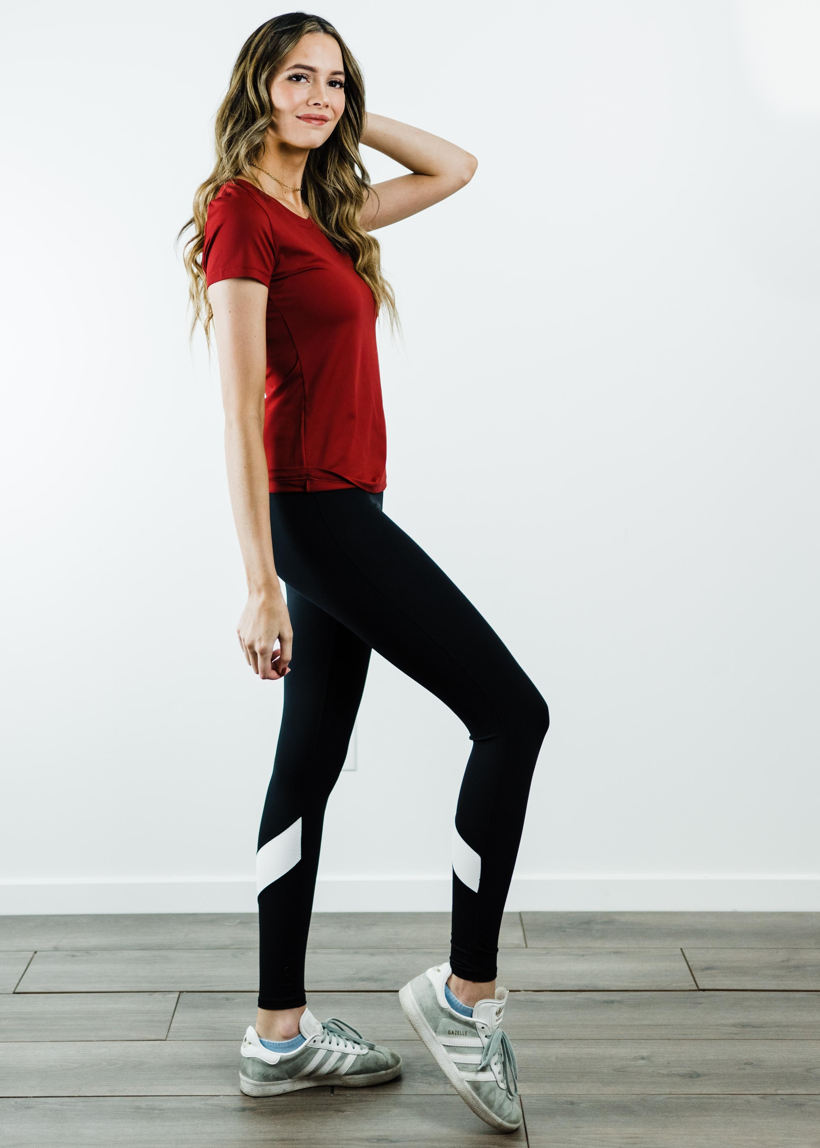 "Performance Tee With 27"" Leggings - Sport Set"