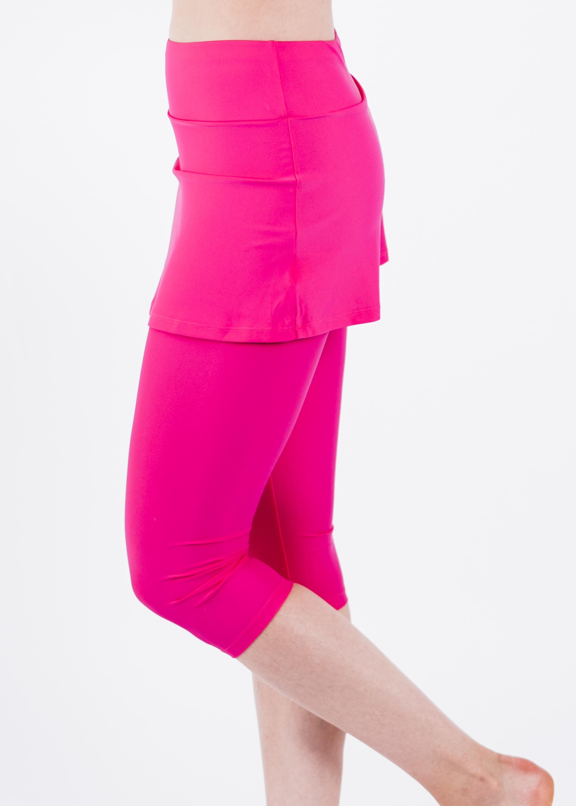 Skirted Swim Capris
