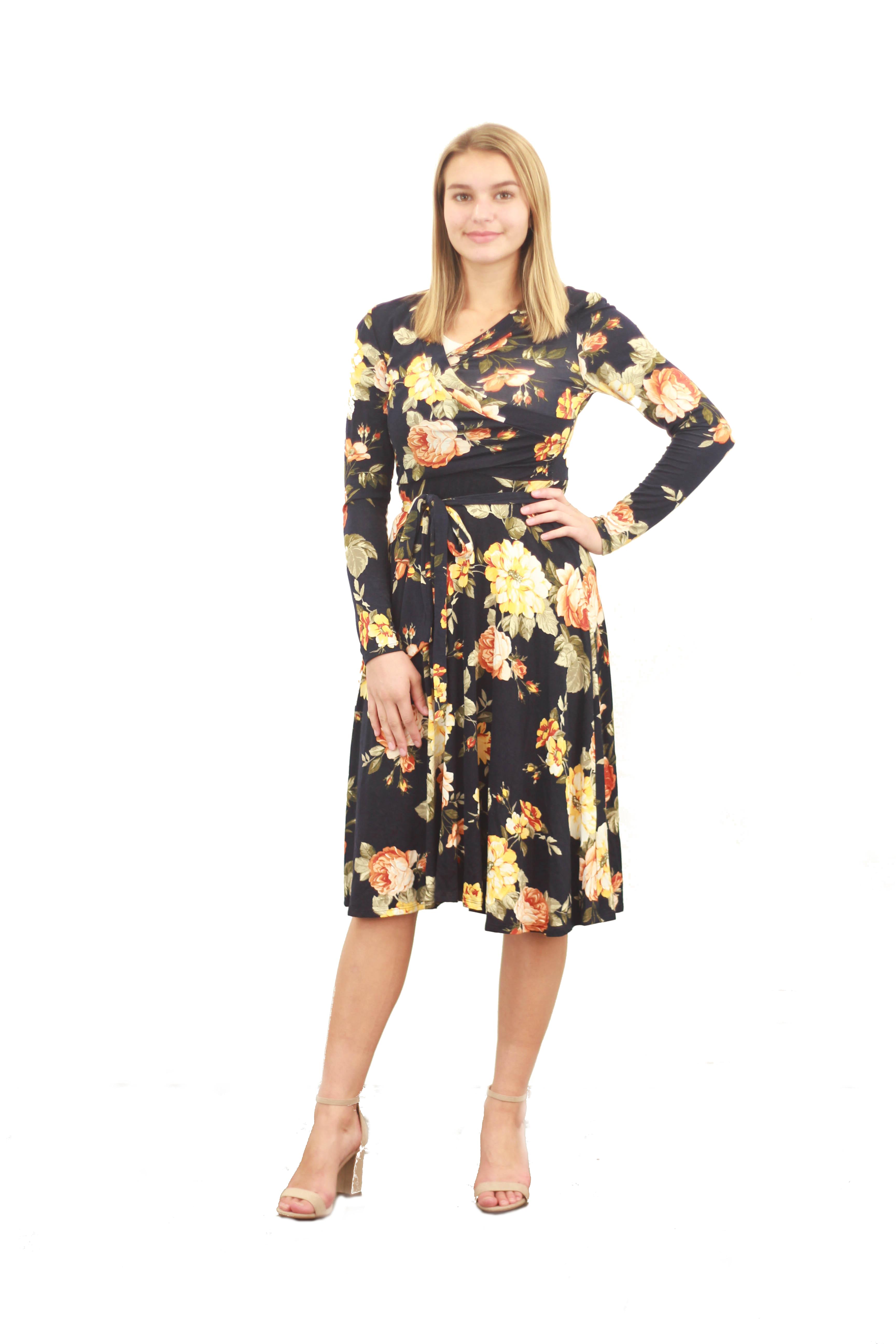 838426de89 Janae Floral Dress | ModLi