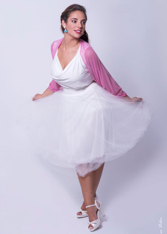 Pink Sheer Dresses