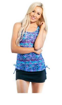 Tankini Top & Short Skort