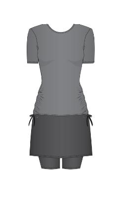 Short Sleeve Top & Midi Skort